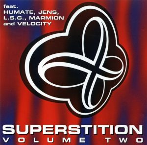 Das CD-Cover der Kompilation Superstition Volume Two