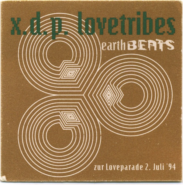Eine Party zur Loveparade 1994: Lovetribes, Earth Beats.