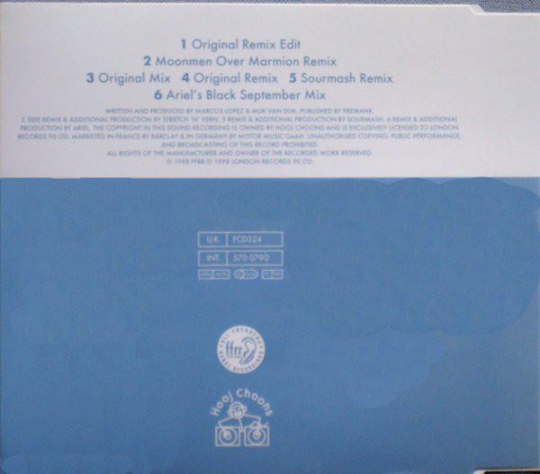 """Die Rueckseite der CD-Single """"Schoeneberg"""" von Marmion 1998"""