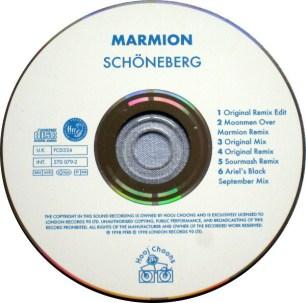 """Die CD von """"Schoeneberg"""" 1998"""