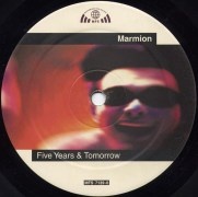 "Das Label der Maxi-Single ""Five Years & Tomorrow"" A-Seite"