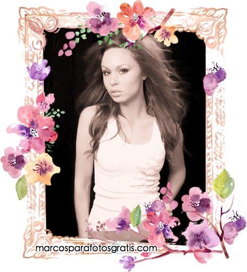 marcos de flores para fotos