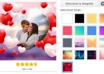 Decora fotografías de amor con este hermoso y romántico marco de corazones