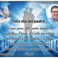 Marcos del Día del Padre para padres que están en el cielo
