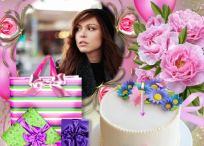 5 hermosos modelos de marcos de cumpleaños para tus fotos
