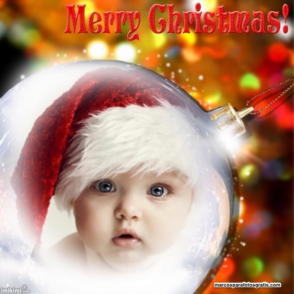 mejores marcos de fotos de navidad
