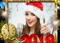 10 Modelos de marcos Año Nuevo 2018