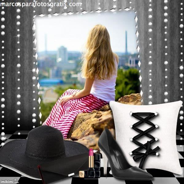 marcos de fotos femeninos mujer