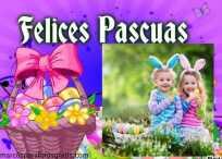 10 Modelos de Marcos de Pascua o Felices Pascuas