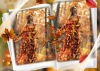 10 Marcos de otoño para crear gratis con tu foto