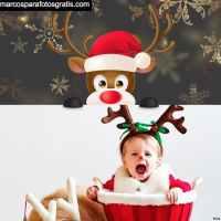Fotomontajes y Marcos de Navidad para niños y niñas