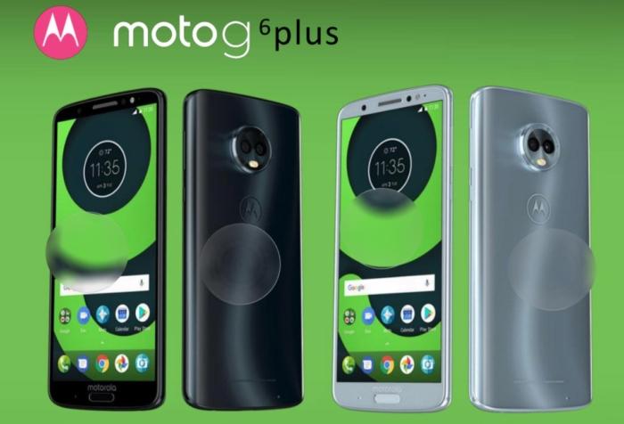 Las filtraciones moto g6 plus con camara trasera dual y pantalla 18:9