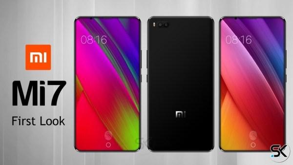 Mi7 con huella bajo la pantalla