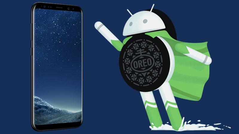 Los Samsung con Oreo