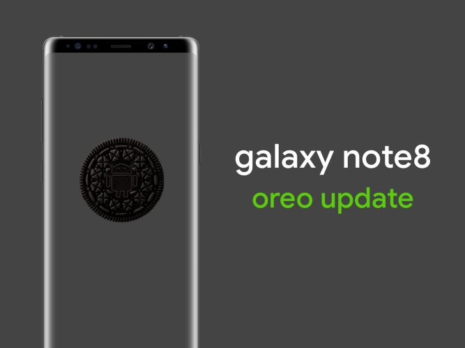 Samsung Galaxy Note 8 a Oreo