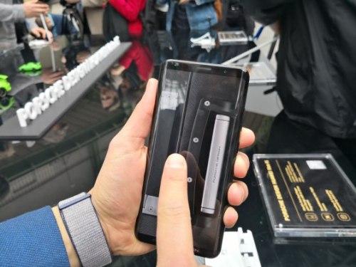 Huawei Mate RS con sensor de huellas en pantalla