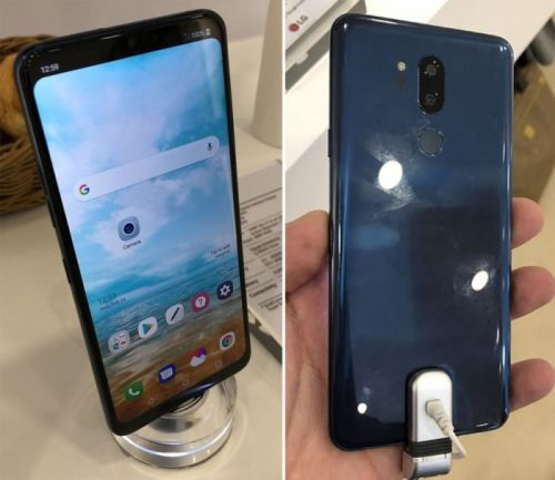 """Diseño y especificaciones del LG G7 con """"notch"""""""