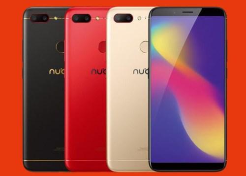 Nubia N3: batería de 5000 mAh y formato de pantalla 18:9 para la gama media
