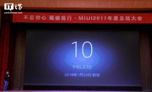 Miui 10 presentado oficialmente