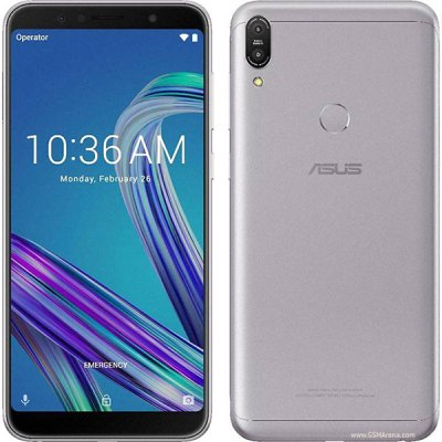 ASUS Zenfone Max Pro M1 frontal y trasera