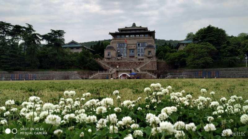 Palacio fotografiado con el Mi 6X
