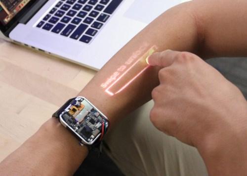 LumiWatch convertirá tu brazo en una pantalla inteligente