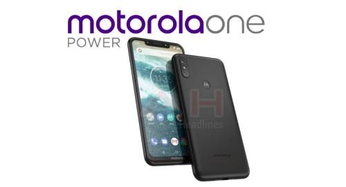 Motorola One Power, primera imágen del Moto con Android One y notch