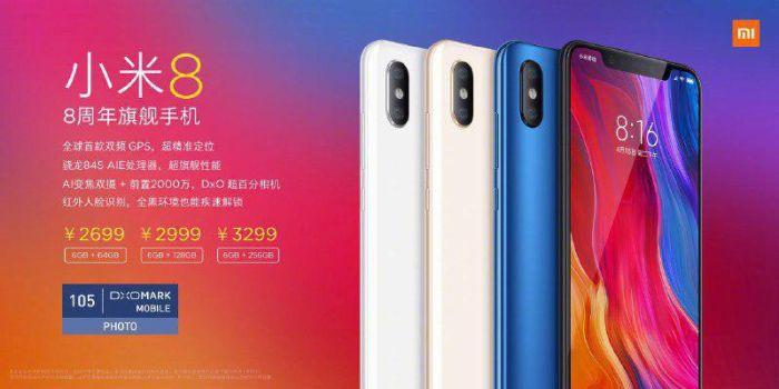 Xiaomi Mi 8-precios