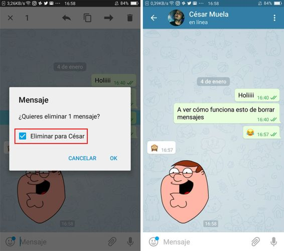 40 trucos para Telegram parte 1-editar mensajes
