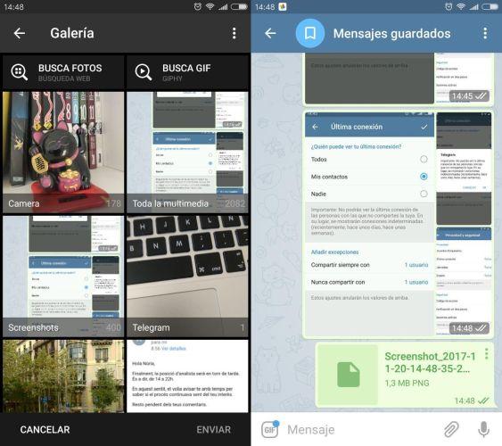 40 trucos para Telegram parte 1-imagenes