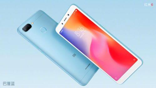 Xiaomi Redmi 6, especificaciones técnicas