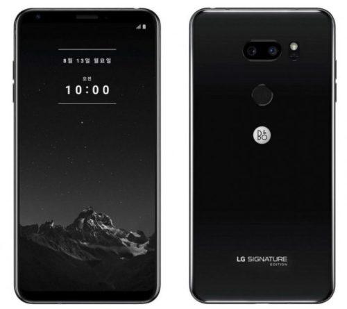 LG Siganture Edition por 1.800 dólares