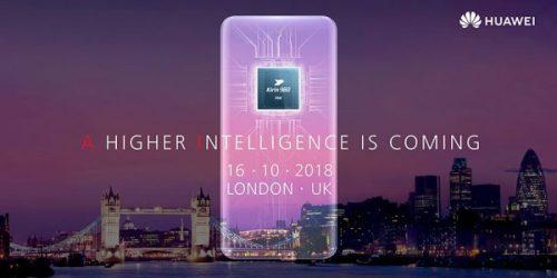 Londres, 16 de octubre. Huawei Mate 20 Series
