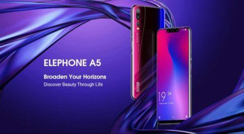 Te presentamos el nuevo Elephone A5 con sistema de cinco cámaras