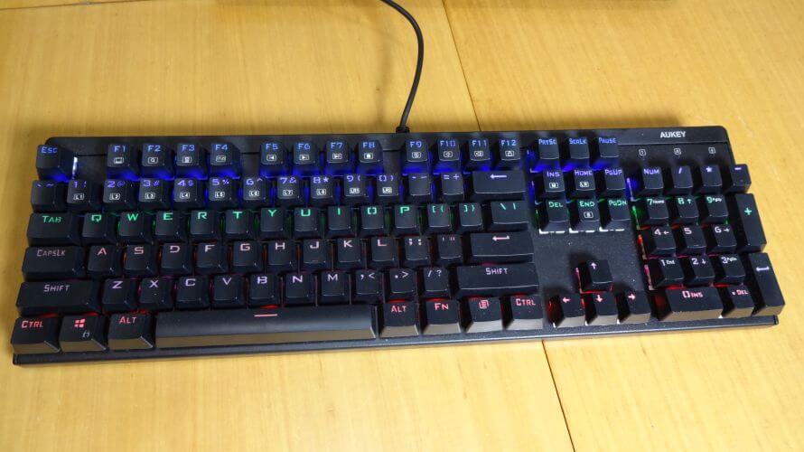 teclado gaming Aukey KM-G6