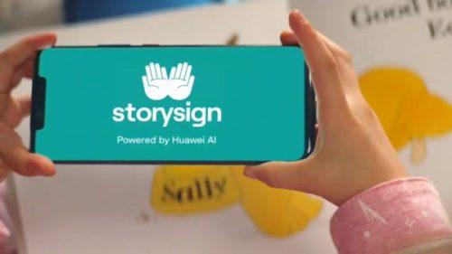 StorySign: la app de Huawei que usa IA para enseñar a leer a niños sordos