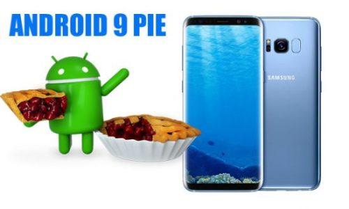 Samsung Galaxy S8, S8+ y Note 8 reciben Android Pie con pruebas Beta