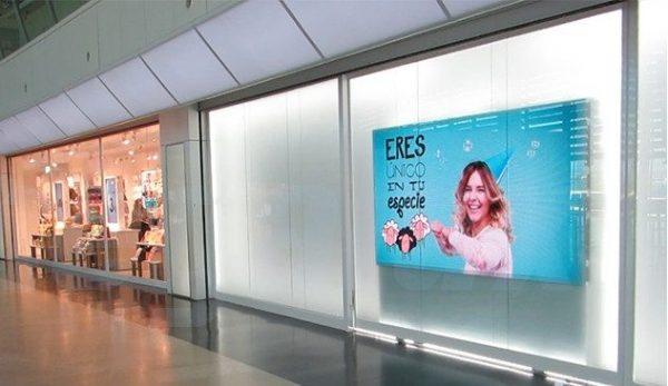 Pantalla LED como medio para publicidad