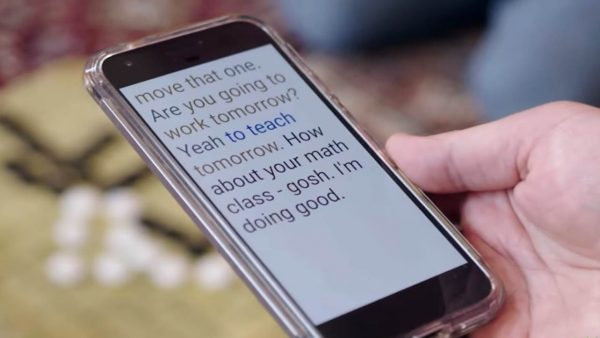 Live Transcribe app de Google para Android