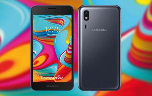 Samsung Galaxy A2 Core se deja ver y no sorprende demasiado