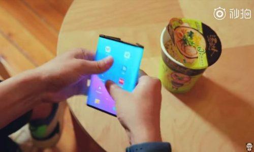 Xiaomi y su móvil plegable se muestra en un nuevo vídeo
