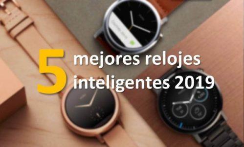 Los 5 mejores relojes inteligentes en oferta del 2019