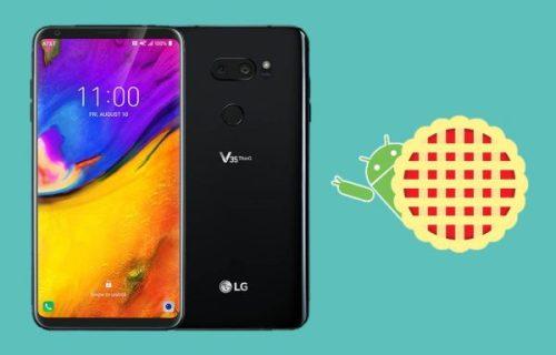 LG V35 ThinQ comienza a recibir la actualización de Android 9 Pie