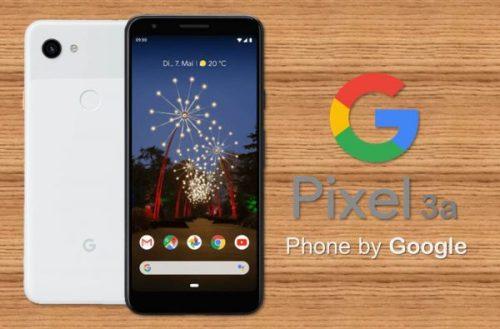 Google Pixel 3a y 3a XL ya son oficiales con precios accesibles