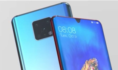 Huawei Mate 30: Nuevo concepto que alucinaras (+Vídeo)