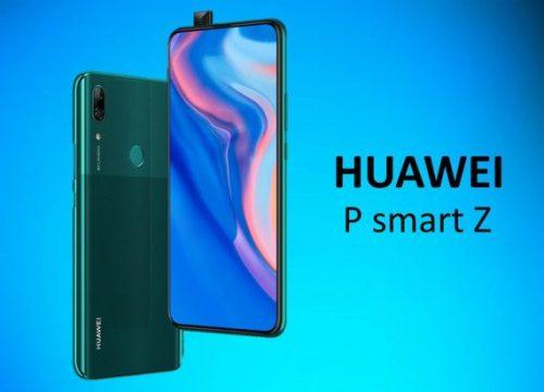 Huawei P Smart Z: lanzado el primer móvil con cámara retráctil de la firma