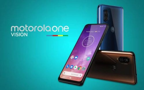 Motorola One Vision ya disponible en España a través de Amazon