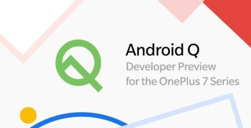El OnePlus 7 y 7 Pro ya cuentan con la Beta de Android Q