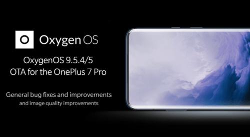 OxygenOS 9.5.4 / 9.5.5 para OnePlus 7 Pro ya está disponible