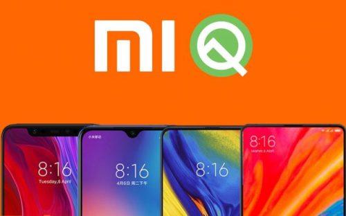 Estos móviles Xiaomi obtendrán Android Q este mismo año 2019